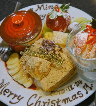 X'mas birthday☆